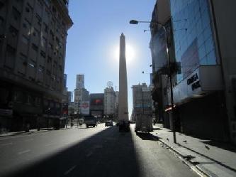 Private Besichtigungen in deutscher Sprache in Buenos Aires Obelisk von BA Stadtrundfahrt Buenos Aires