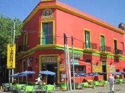 la Bocas Tango. Wir besuchen und führen Sie durch diesen Tango Bezirk Buenos Aires City Stadtrundfahrt Buenos Aires