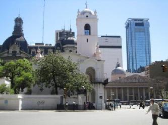 City Tours in Buenos Aires Reisen nach Argentinien  Die Kathedrale von Buenos Aires  Stadtrundfahrt Buenos Aires