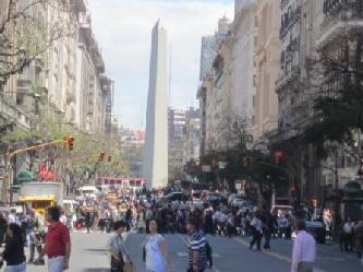 BEGLEITUNGEN  FUER DEUTSCHE UNTERNEHMER IN BUENOS AIRES Stadtrundfahrt Buenos Aires